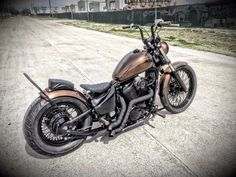 Tail End Customs Honda Shadow VLX 600 Bobber
