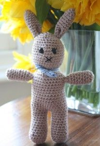 This little bunny is a quick and easy project for little people. Perfect for Easter or fans of furry rabbits. Bobby Bunny Pattern