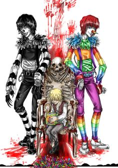 creepypasta laughing jack drawings - Google Search