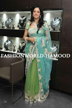 Fashion: Sridevi In Designers Outfits 2012