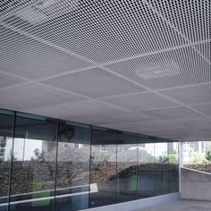 Ceilings made of expanded metal or wire mesh - MARIANItech®