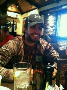 Luke Bryan.  Some girls love a man in uniform.  I love a man in camo.