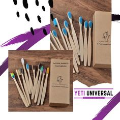 Hi 🙋🏼♀️ We are very excited to meet you. 💜💜 Minimize plastic waste and brush with confidence! Is naturally abundant and a great substitute for normal plastic toothbrush. Our Natural Toothbrushes are sure to satisfy your brushing needs, even down to the packaging made with recycled paper!🍃 We're so confident that you'll love our products! 🌟 Stay tuned! ✔️Smart products for your smart choice✨✨ Things To Buy, Stuff To Buy, Plastic Waste, Toot, Brushing, Good Advice, Stay Tuned, Confident, Bamboo