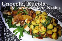 Gnocchi, Rucola & Nashis [VEGAN]