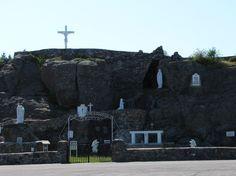 Our Lady of Lourdes Grotto Lourdes Grotto, Our Lady Of Lourdes, Mount Rushmore, To Go, Faith, Mountains, Eyes, Nature, Travel