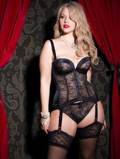 Forever Yours Lingerie releases it's 2014 lookbook of full bust and plus size swimwear with one of the brand's faces, Elly Mayday.