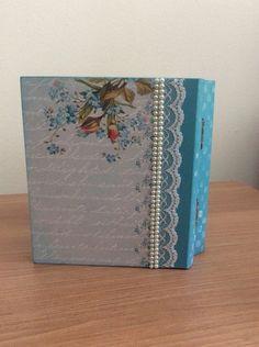 Caixa livro Blue