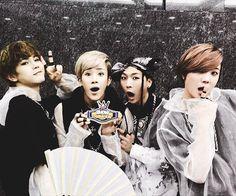 hansol, b-joo, hojoon & xero | topp dogg~~~Wizard Line (dancers). Yep. You will be seeing a lot of them here.