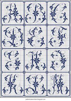 Free Easy Cross, Pattern Maker, PCStitch Charts + Free Historic Old Pattern Books: Sajou No 321
