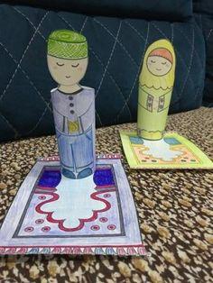 Musallam on - Eid Crafts, Ramadan Crafts, Ramadan Activities, Library Activities, Fun Crafts For Kids, Preschool Activities, Decoraciones Ramadan, Indoor Games For Kids, Islamic Decor