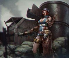 Cannoneer by Verehin.deviantart.com on @deviantART