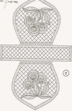 """Résultat de recherche d'images pour """"patrones de bolsos de encaje de bolillos"""""""