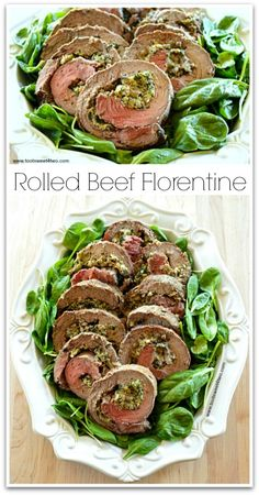 Rolled Beef Florenti