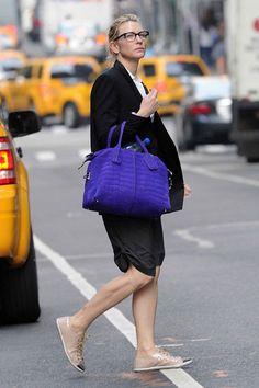 Cate Blanchett. Tod's D-Bag.
