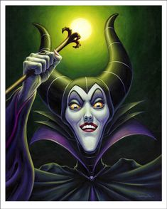 Maleficent re-imagined movie poster
