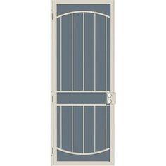Unique Metal Screen Doors Arcada 36 In X 96 In Steel