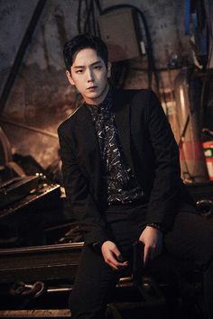 "Himchan. When I first saw this pic in the photobook I honestly had to do a double-take and go ""holy shit..."""