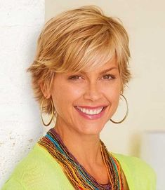 Shag Hairstyles : Layered Sassy Short Hairstyles With Bangs For Light Blonde Wavy Hair Women Over 40 Sassy Short Hairstyles 2016 Sassy For Round Faces. Sassy Curly Hairstyles. Sassy Short Hairdos.