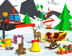 "Check out new work on my @Behance portfolio: ""Low Poly Christmas Pack"" http://be.net/gallery/31670145/Low-Poly-Christmas-Pack"