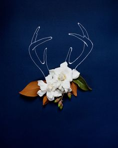 Holiday Antlers No. 4181 by kariherer on Etsy, $30.00