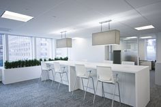 Ray, Inc. has developed the new offices of The Canadian Payroll Association located in Toronto, Canada. As the source of payroll education and advocacy, Common Area, Toronto, Dining Table, Interior Design, Furniture, Offices, Collaboration, Home Decor, Design Interiors