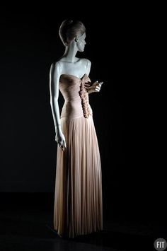 Evening Dress Madame Grès, 1955 The Museum at FIT