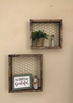 Rustic Wall Shelves, Rustic Walls, Wire Shelves, Wood Shelf, Decorative Shelves, Kitchen Wall Shelves, Rustic Wall Art, Diy Rustic Decor, Rustic Design