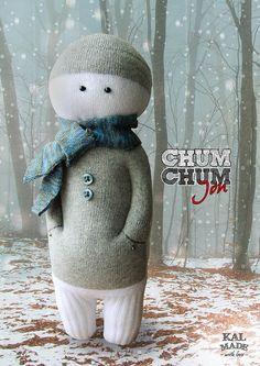 Sock Doll CHUM CHUM -- Jon