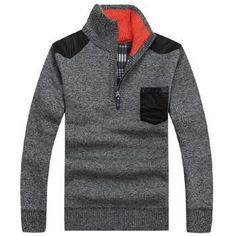 Men's Sweaters Thick Warm Winter Zipper Pullover Cashmere Wool Sweaters Man Casual Knitwear Fleece Velvet Clothing Big Size