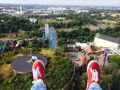Näkymät Kingistä #finland #helsinki #linnanmaki #summer #kesa #visitfinland #huvipuisto #amusementpark #nojespark #puisto #park #kingi