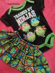 Hey, I found this really awesome Etsy listing at https://www.etsy.com/listing/219409472/superhero-costume-baby-girl-tmnt
