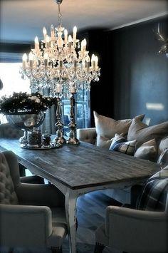 Intimate dinning room.