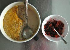 Overnight Breakfast: Barley Porridge