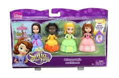 Celebrate outdoor playtime with Princess Sofia and three of her favorite playtime pals: Princess Amber, Ruby and Jade! Each of the four adorable dolls is ready for a day of friendship and adventure, wearing a delightful daytime fashion. - To order: http://www.shopaholic.com.ph/new.html#!/Disney-Princess-Sofia-and-Friends/p/48393595/category=6966429