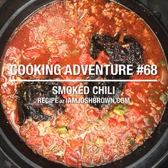 Chili on the Big Green Egg seemed like a daunting task for me. Smoking chili seems easy enough. But when you consider the multiple ingredients. Layering them in at certain times. Slow cooking it, without overcooking it, to meld the flavors. Chili in theory is...