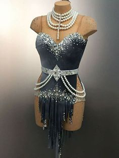 Dance Costumes Lyrical, Ballroom Costumes, Latin Ballroom Dresses, Salsa Dress, Rave Wear, Dance Outfits, Costume Design, Latina, Ideas