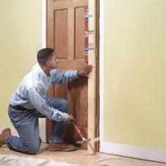 How to Replace an Interior Door: Prehung Door Replacement - March 24 2019 at