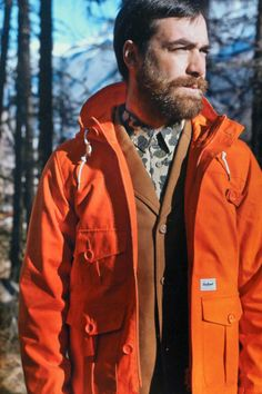 Orange Carhartt Jacket