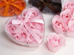Soap Rose Petals by AthenasBathHouse on Etsy
