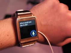 Samsung Galaxy Gear hands-on photos. Galaxy Smartwatch, Best Android, Android Apps, Samsung Mobile, Wearable Technology, Apple Watch Series 3, Digital Media, Smart Watch, Fitbit