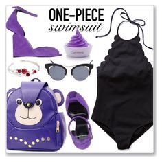 """""""#17"""" by lejla-7 ❤ liked on Polyvore featuring Pierre Hardy and onepieceswimsuit"""