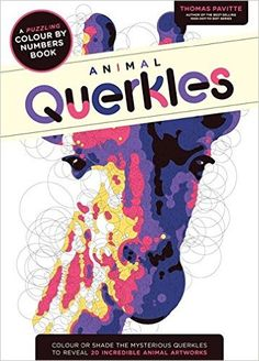 Animal Querkles A Puzzling Colour By Numbers Book
