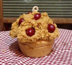 Candela di mirtillo Muffin  fatto a mano di Glorylight su Etsy