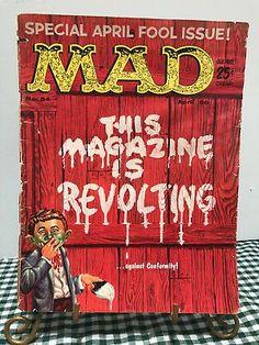 Mad Magazine, Magazine Images, Magazine Covers, Magazine Articles, Vintage Comics, Vintage Books, Vintage Stuff, American Humor, Culture Pop