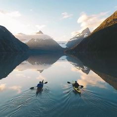 A good day for kayaking Portage Glacier Alaska US | Alex Strohl Say Yes To Adventure