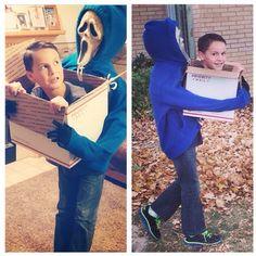12 yr olds trippy Halloween costume halloween costumes Halloween Costumes Kids Boys, Homemade Halloween Costumes, Halloween 2014, Boy Costumes, Creative Halloween Costumes, Halloween Party, Awesome Costumes, Diy Costumes For Boys, Costumes 2015