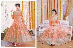 Fancy Look Party Wear Anarkali Salwar Suit_705-Clothing-Crazy Fashion