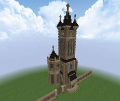 ... And another cool Minecraft creation (Frank cathedral)