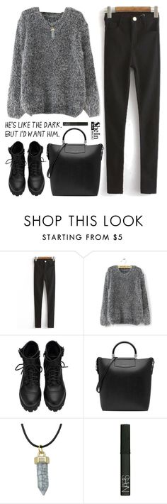 """SheIn 4"" by scarlett-morwenna ❤ liked on Polyvore featuring NARS Cosmetics and vintage"
