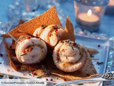 100 recipes of aperitifs for Christmas - Trend Appetizer Fine Dining 2019 Ceviche, Pizza Au Foie Gras, Tapas, Mini Appetizers, Fast Food, Fish And Seafood, Fine Dining, Entrees, Catering